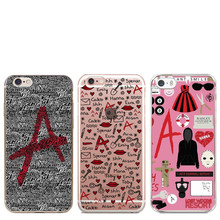 Pretty Little Liars Collage Transparent plastic hardcover Cove Case For iPhone SE 5 5S 6 6S 6 Plus 6SPlus 7 7Plus Phone Cases(China)