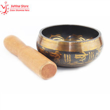 Buddhism Singing Bowl Himalayan Hand Hammered Chakra Meditation Religion Belief  Tibetan Home Decorations Buddhal Singing Bowl