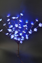 "LED Battery Type  Acrylic Flower Branch Light 20"" 60LED  AA Standard  Acrylic Flower Decoration Branch Light, Wedding Table Deco"