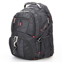 Swiss swisswin waterproof Laptop Backpack male Travel Backpack gear quality brand n School Bags for Teenagers SW8112 Male Bag(China)
