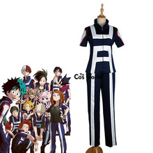 Boku No Hero Academia My Hero Academia All Roles Gym Suit High School Uniform Sports Wear Outfit Anime Cosplay Costumes(China)