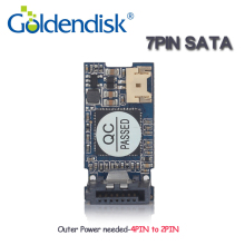 Goldendisk GD Serial 16GB DOM 7pin Vertical SATA Disk on Module MLC NAND Flash Drives Internal Dual Channel for Thin Clients