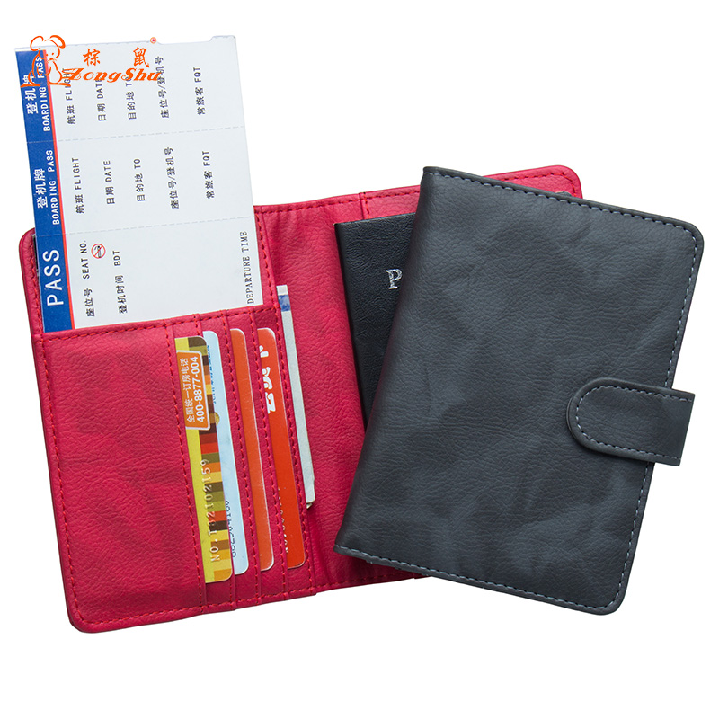 Card & Id Holders Lovely Russian Double-headed Eagle Convenient Pink Pu Leather Passport Holder Built In Rfid Blocking Protect Personal Information Coin Purses & Holders