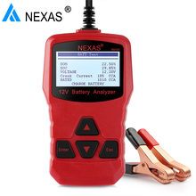 Nexas NB300 Car Battery Tester 12V Automotive Analyzer 1000 CCA Digital Charging Cranking System Tester with Russian Portuguese(Hong Kong)