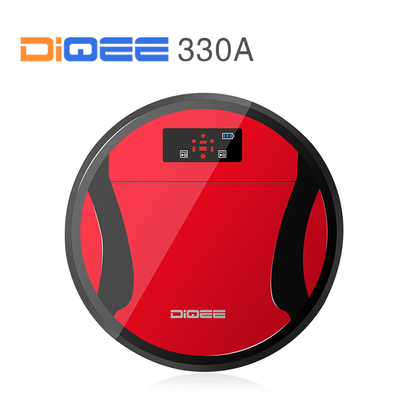 DIQEE 330A Smart Robot Vacuum Cleaner for Home Sweeping Dust Sterilize timing Automatic Charge HEPA Filter 500ML Dust box(China (Mainland))