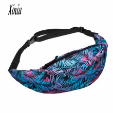 Xiniu Hot Sale waist bag packs Unisex Flower Printed belt men women waist bags bolsa Pouch Zip Pack bags Big Discount bags Saco