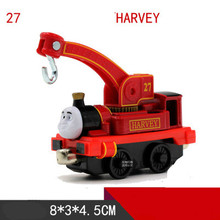 Thomas and Friends -Diecast Metal Train HOOK HARVEY Megnetic Train Toy Tank Engine Toy For Children Kids Christmas Gifts(China)