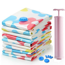 sunflower Vacuum Storage Bag/ 10pcs/pack vacuum bags for clothes winter quilt Space bag  Vacuum Seal Compression bag Organizer
