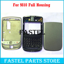 For BlackBerry Torch 9810 Original Full Complete Mobile Phone Housing Cover case + Keypad +Side Button + tools