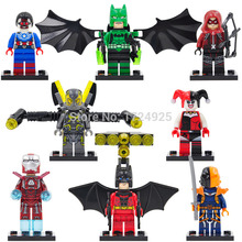 SY Super Hero Avengers Block Harley Quinn/Red Arrow/Iron Man/Batman Building Blocks Sets Model Bricks Toys - PandaK Store store