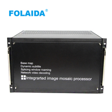 Folaida 9x9 LCD video wall processor HDMI VGA HD 1080P 9 input 9 output signals for 2x2 3x3 video wall project(China)
