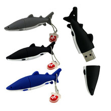 Hot Sale 100% real capacity U Disk pen drive shark style 4GB 8GB 16GB 32GB 64GB usb flash drive flashdrive memory stick pendrive