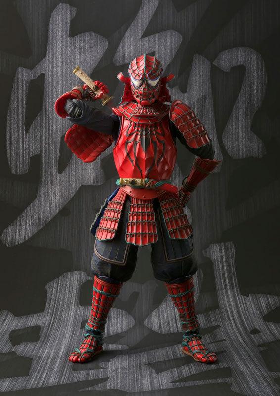 Movie Realization Koutetsu Samurai Iron Man PVC Action Figure Toy Gift