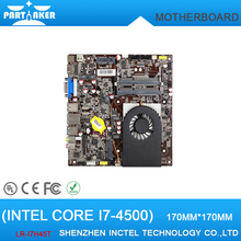 New Arrival Motherboard LR-i7H45T low power cpu Core i7-4500 Dual Core 1.8G with HDMI VGA Thin Mini ITX Mainboard