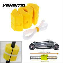 Vehemo 2pcs New Universal Magnetic Gas Fuel Saver Reduce Car Motorcycles Truck Emission High Quality Accessories
