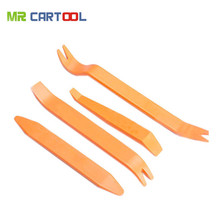 4pcs Car Radio Door Clip Panel Trim Dash Audio Removal Installer Pry Kit Repair Tool Portable Practical