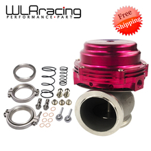 WLR FR SHIPPING- Water cooler 44mm TL Wastegate external turbo red/blue/black With Flange/Hardware MV-R Water-cooled w/logo 5834(China)