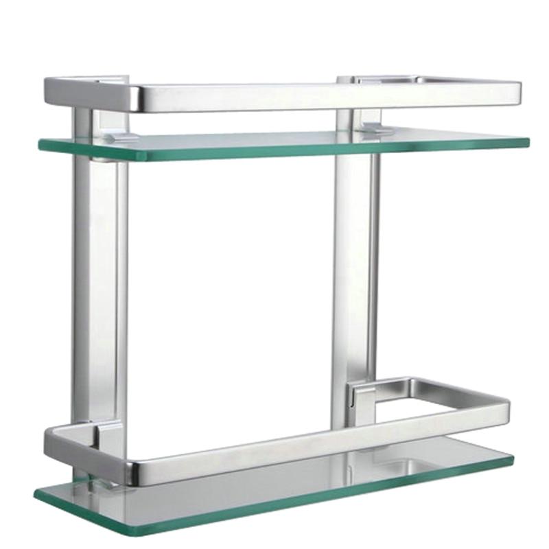 popular glass corner shelves for bathroom-buy cheap glass corner