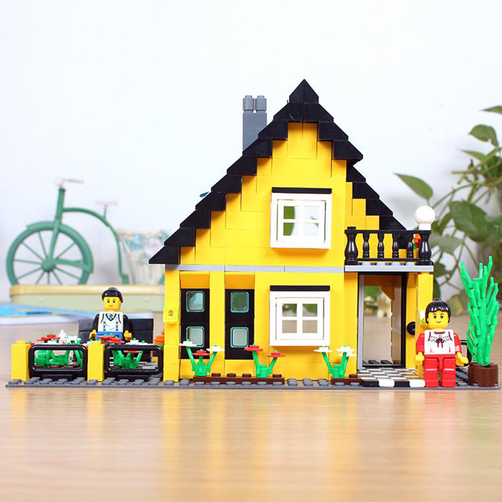 Villa 32052 Enlighten Building Block Set Construction Brick Toys Educational Block toy for children compatible wange<br><br>Aliexpress
