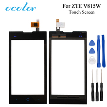 ocolor For ZTE V815W Touch Screen Good Touch Panel Perfect Repair Parts Replacement for ZTE V815W KIS 2 V815 Mobile Phone(China)