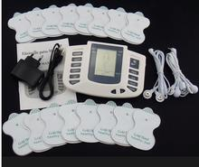 EMS/Tens unit Electronic Body Slimming Pulse Massage Pain Relief Acupuncture Therapy Machine with 16 pads