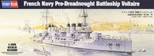 Hobby Boss 1/350 scale war ship models 86504 French Navy Pre-Dreadnought Battleship Voltaire(China)
