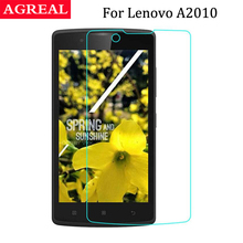 Buy AGREAL Lenovo A2010 Screen Protector Original Anti-shock 9H Tempered Glass Safety Protective Film 2010 A2580 A2860 for $1.29 in AliExpress store