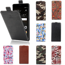 12 designs Up and Down Luxury PU Leather Flip Cover with Card Slot Cover Coque Fundas Case for Prestigio Grace Q5 Phone Cases