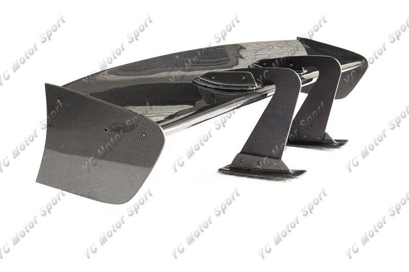 Universal Voltex Type 7 SWAN NECK Style 1600mm GT Wing Spoiler (Fits EVO7 8 9 GTR35 GT86 S2000 etc.) CF (7)