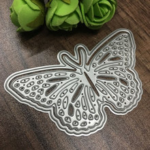 Buy Pop Metal Butterfly Cutting Dies Stencils DIY Scrapbooking/photo album Decorative Embossing DIY Paper Cards for $1.36 in AliExpress store
