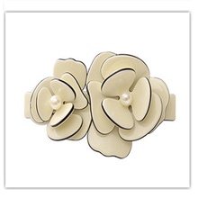 Fashion Flower Hair spring clip Acetate french hair Barrettes for women fancy Girl hair jewelry orament hairpins accessaries(China)