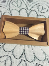 Men Wooden Bow Tie New Arrival 2016 Fashion Unique Design Carving Important Occasion Wooden Tie As a Gift For Your Loved(China)
