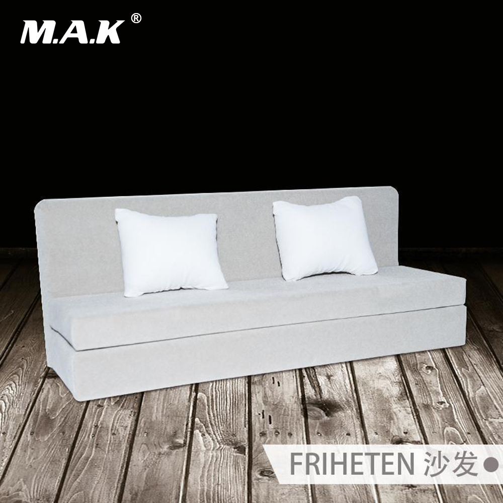 1:6 Scale Accessories TYM013 Fashion Gray Sofa Cloth Fabric Long Couch Model Toy for 12 Action Figure<br>