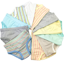 9 Pcs/Lot 2-8Y Kids Boys Girls Briefs Baby Underwear 100-Kinds Style Organic Cotton Boy Girl Shorts Panties For Children Clothes(China)