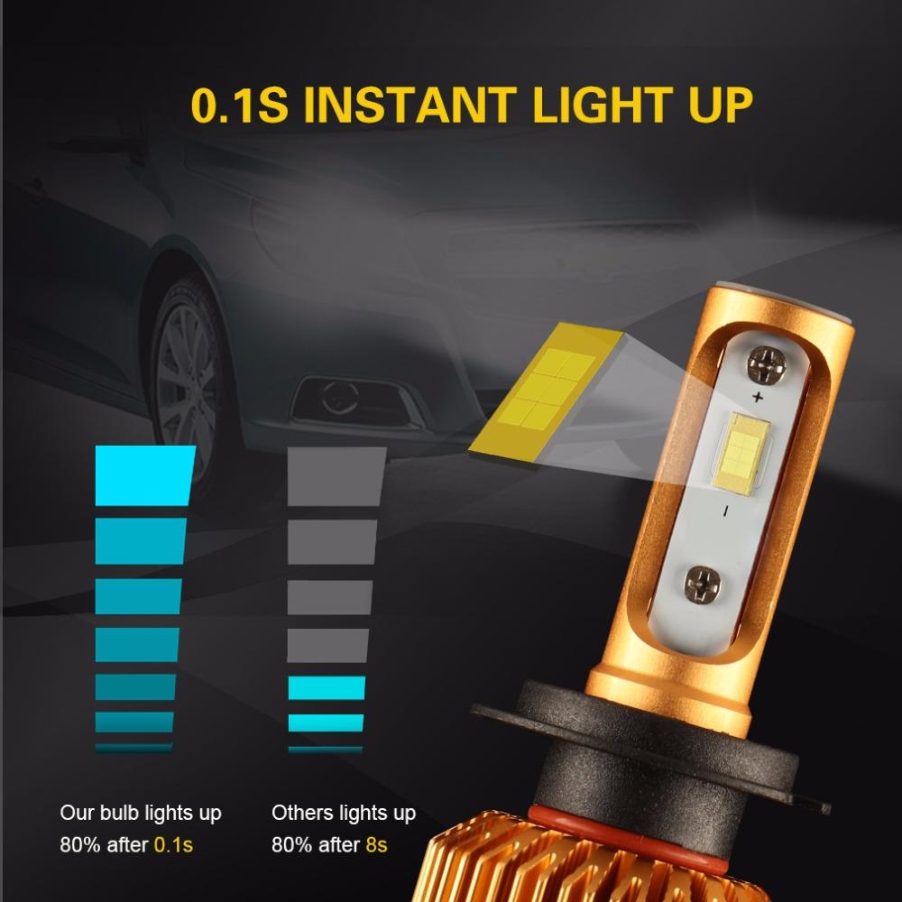 car led light h11 8000lm