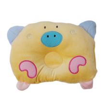Baby Anti-roll Pillow Flat Head Sleeping Lovely Pig Design Shaping Pillow BIG Hot Baby Head Protection Pillow Cushion Breastfeed