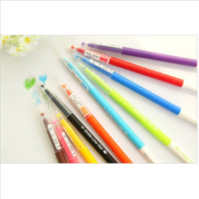 2017 Colorful Gel Pen Set Kawaii Korean Stationery Creative Gifts Goods for School Writing Kids Learn Education Toys