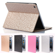 For apple ipad mini Magnetic Open Close Screen Wake up Sleep Flip Leather case For ipad mini 2 /3 PU Smart Stand Holder Cover