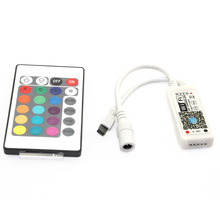 C17-RGBW Magic Home Wifi LED RGBW Controler DC12V MIni Wifi + 24 IR Key Remote Controller for RGBW LED Strip(China)