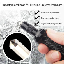 Mini Car Safety Hammer Life Saving Escape Emergency Hammer Glass Breaker Car Rescue Tool Color Black