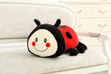 30cm lovely Lady beetle animal plush toys doll kawaii Soft pillow Room decoration girlfriend kids Children's day birthday gif(China)