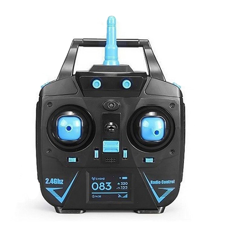 JJRC H5M RC Drone With 2.0MP HD Camera Music Function 2.4G One Key to Roll/Return Headless Mode 3D Flip RC Quadcopter RTF