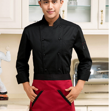 Cotton Chef Wear Short Sleeved Summer Male Hotel Kitchen Chef Uniform Chef Jackets