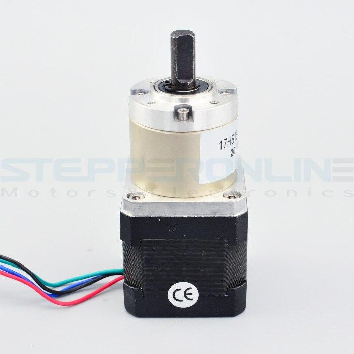 27:1 Planetary Gearbox Nema 17 Stepper Motor 1.68A for DIY CNC Robot 3D Printer<br>