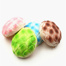 Pineapple Melon Bun Squishy Slow Rising Kawaii Phone Straps Pendant Bread Kids Gift Wholesale Educational Toys For Children