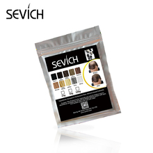 SEVICH Human Hair Powder Keratin Hair Fiber Building Thicker Hair Loss Concealer Hair Care Color Styling Dye Refill Bag 100g(China)