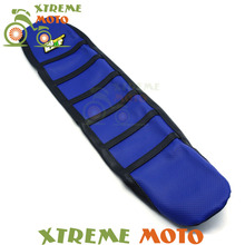 New Blue Gripper Soft Seat Cover For Yamaha YZF250 YZF450 YZ250F YZ450F 06-09 Motorcycle Motocross Enduro Dirt Bike Off Road