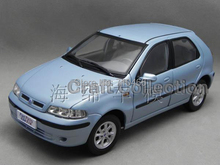 Light Blue 1:18 FIAT Palio Alloy Scale Models Limited Edition Die Casting Toy Vehicles