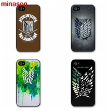 minason Phone Cases Cover For iPhone Cover case for iphone 4 4s 5 5s 5c 6 6s 7 7 8 plus samsung galaxy s3 s4 S5 S6 #SE357(China)