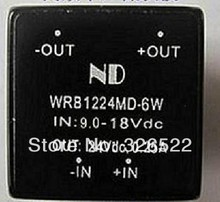 dc dc converters wide input voltage 12V step up to 24V 6W Single output dc-dc Power module